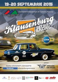 Klausenburg Retro Racing, in septembrie la Cluj - cluju. Clu, Racing, Retro, Running, Auto Racing, Retro Illustration