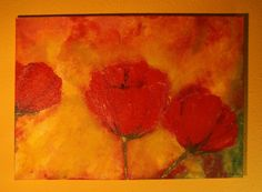 Blütenrausch 50x70 *Urknall* von Elbengard auf DaWanda.com