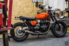 Triumph Motorcycles took the covers off a stunning custom Street Twin at Bike Shed Paris 2016, being held at Les Docks Cite de la Mode et du Design this weekend. The bike has been designed and built by Down and Out Café Racers in conjunction with Triumph and is based on the newly-launched, 900cc High…