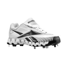 SALE - Reebok Zig Baseball Cleats Mens White Synthetic - Was $89.99 - SAVE $15.00. BUY Now - ONLY $74.99
