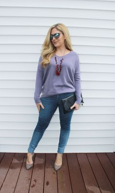 sweater, moto jeggings, heels, fall fashion, outfit