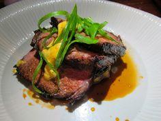 Short rib anticucho from Ricardo Zarate's new Peruvian restaurant, Paiche