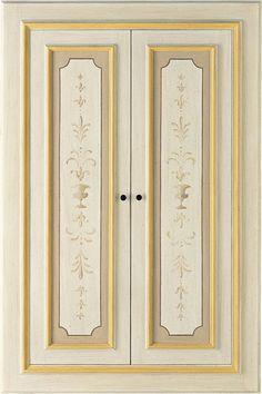 Porte Interne decorate a mano LUNAMARE - ANTICHE PORTE Collezione ...