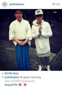 Justin Bieber visita santuário japonês e causa indignação na China