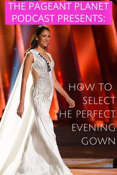 Check out The Pageant Planet Podcast! Here you will discover everything you need to win the crown of your dreams. Each episode we interview experts in all categories (PreTeen, Teen, General) and give you the insights to help you win. This episode discusses what you need to know to find the perfect evening gown.
