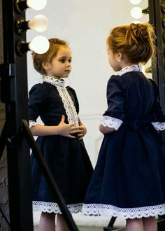 Age-appropriate and vintage style children's wear
