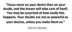 Quote Wieder dream