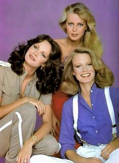 """Charlie's Angels 76-81 – """"Once upon a time, there were three little girls who went to the police academy."""""""