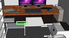 DIY Standing Desk for my DIY Cintiq build