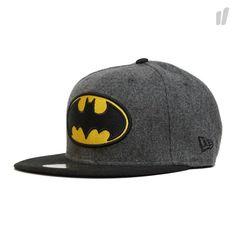 New Era 59Fifty Batman Hero Melton Cap - http://www.overkillshop.com/de/product_info/info/11461/