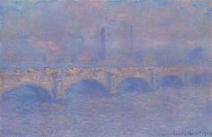 "Claude Monet (1840-1926), ""Waterloo Bridge, Sunlight Effect"" - The Art Institute of Chicago"