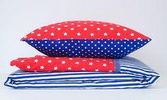 Ložní prádlo červené hvězdy Dolly