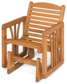 Jack Post Roush Glider Chair - traditional - rocking chairs and gliders - Hayneedle