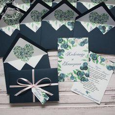 Приглашение в конверте, васильковый, черника, черничный, голубика, черничная, приглашения на свадьбу, приглашения, invitation, wedding, stationery, приглашения, свадьба, blueberry, blackberry