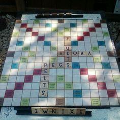 Outdoor Scrabbleboard