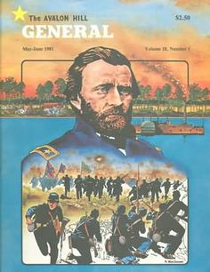 Volume 18 Issue 1 of Avalon Hill's General - The General Magazine (Avalon Hill) - Gaming Magazines - Board Games