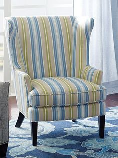 Striped wingback by Company C