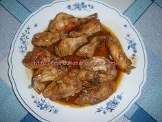 Pollo a la provenzal (en bolsa para hornear)Dukan