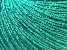 Baby Summer - Emerald Green: 8 x 50g/160m, SYW2, 60% Cotton 40% Acrylic Baby Yarn at Anjicat's Rocking Chair