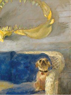 Jamie Wyeth http://www.pinterest.com/yvettespaintbox/artsy-pups/