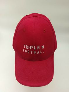 07daad08861ae2 Triple M Football Dunlop Baseball Cap. Flex-Fit L-XL. 100% Cotton #fashion  #clothing #shoes #accessories #mensaccessories #hats (ebay link)