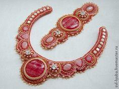 """Ensembles de bijoux faits à la main.  Foire Maîtres - kit main """"Air Zephyr"""" (collier + bracelet).  Handmade."""