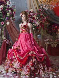 ❀ Flower Maiden Fantasy ❀ beautiful photography of women and flowers - Stella de Libero