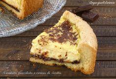 Crostata cioccolato e crema di ricotta