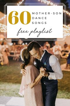 If you've been looking for the perfect song to dance to with your mom, we've got 60 mother-son dance songs that will get you and her right in the feels. Mother Groom Dance Songs, Mother Son Wedding Songs, Father Daughter Dance Songs, Mother Song, Mom Song, First Dance Wedding Songs, Wedding Music, Mother Daughters, Daddy Daughter