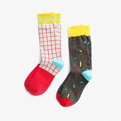 Richer Poorer for Poketo Socks $12.00 #accessories #pattern