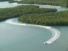 Marco Island Water Sports guided WaveRunner adventures!