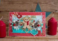Crafty by AgnieszkaBe: I-Kropka Scrapbook Templates, Gingerbread, Christmas Cards, Container, Gift Wrapping, Crafty, Tableware, Happy, Gifts