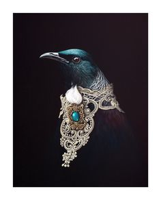 Adorned Orator by Jane Crisp - Art Prints New Zealand Illustrations, Illustration Art, New Zealand Art, Nz Art, Maori Art, Kiwiana, The Orator, Wall Art For Sale, Art Prints