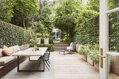 Home Garden Design .Home Garden Design Backyard Patio Designs, Small Backyard Patio, Townhouse Garden, Amsterdam Houses, Casa Patio, Minimalist Garden, Terrace Design, Modern Patio Design, Home Landscaping
