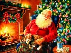 Santa's welcome