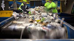How recycling is sorted