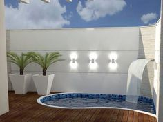 The Best Covered Back Patio Ideas For Your Home – Pool Landscape Ideas Small Swimming Pools, Small Pools, Swimming Pools Backyard, Swimming Pool Designs, Backyard Pool Designs, Small Backyard Landscaping, Small Patio, Backyard Patio, Kleiner Pool Design