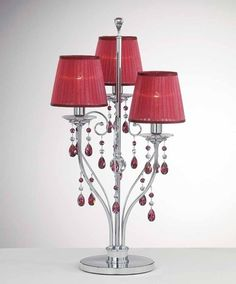 swarovski lamps | Swarovski Crystal table lamp ... | Chandeliers and light elements