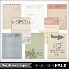 Free till Jun 30 - World Traveler Journal Cards-