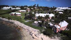 Actor/Bermudian Michael Douglas announces the Ariels Sands Resort in Bermuda.