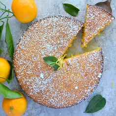 Flourless Whole Tangerine Cake  another great flourless cake that isn't flourless chocolate