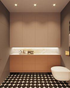 Ötletes minmál stílusú fürdőszoba. #bathroomlighting #bathroom #bathroomdesign #bathroomideas #bathroomdecor #bathroomrenovations #lamp #ledlamp #ledstrip #fürdőszoba #fürdőszobaötletek #fürdőszobavilágítás #világítás #lámpa #ledszalag #led #ledlámpa Toilet, Sweet Home, Bathtub, Led, Interior, Bathrooms, Space, Standing Bath, Floor Space
