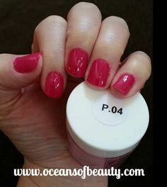 P.04 EZdip Gel Powder. DIY EZ Dip. No lamps needed, lasts 2-3 weeks! Salon Quality done right in your own home! For updates, customer pics, contests and much more please like us on Facebook https://www.facebook.com/EZ-DIP-NAILS-1523939111191370/ #ezdip #ezdipnails #diynails #naildesign #dippowder #gelnails #nailpolish #mani #manicure #dippowdernails
