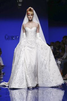 Georges Chakra Couture Fall Winter 2015 Fashion Show in Paris
