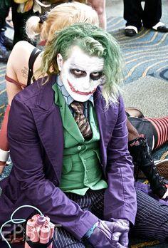 Dark Knight Joker #cosplay is detail-perfect | MegaCon 2012