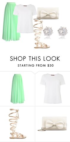 """fancy"" by abbymorgan04 on Polyvore featuring Chicwish, MaxMara, Gianvito Rossi, RED Valentino and River Island"