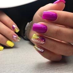 Manicures, Gel Nails, Nail Polish, Colourful Nails, Acrylic Gel, Fall Nail Colors, Trendy Nails, Diy Flowers, Nails Inspiration