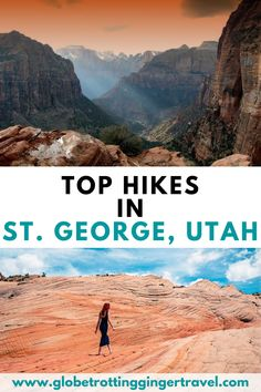 There are so many amazing hikes and outdoor adventures to have in St. George, Utah. Click here if you want to see the top hikes in St. George, Utah! St. George | St. George, Utah | Hotels in St. George | Restaurants in St. George | What to do in St. George | Things to do in St. George