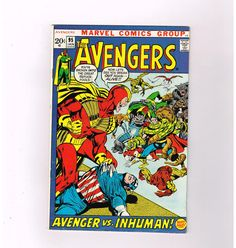 AVENGERS (v1) #95 Bronze Age find! Art by Neal Adams!  Grade 7.0  http://www.ebay.com/itm/AVENGERS-v1-95-Bronze-Age-find-Art-Neal-Adams-Grade-7-0-/291522868980?roken=cUgayN&soutkn=1NYsNX