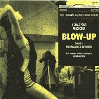 Blow-Up, an Album by Herbie Hancock. Released in January 1967 on MGM (catalog no. SE-4447; Vinyl LP). Genres: Hard Bop, Film Score, Film Soundtrack.  Rated #148 in the best albums of 1967.  Featured peformers: Val Valentin (engineering), Pete Spargo (producer), Acy Lehman (cover design).